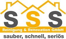Reinigung und Renovationen | SSS Reinigung Logo